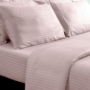 sateen weave silky feel fitted sheet