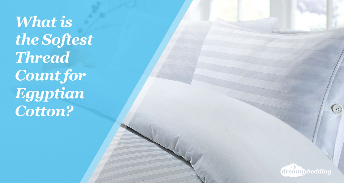 What is the softest thread count for Egyptian cotton sheets?