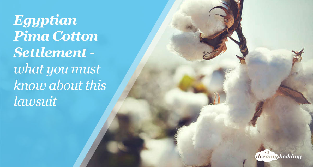 Egyptian Pima cotton settlement